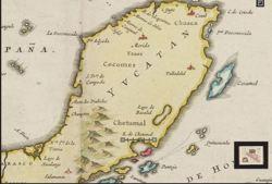 Карта Юкатана, Joan...
