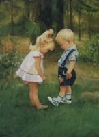 Обложка произведения Малыши на прогулке