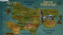 Карта Мунгарда
