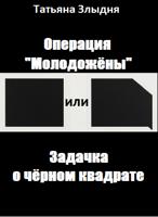 """Обложка произведения Операция """"Молодожёны"""", или Задачка о чёрном квадрате"""