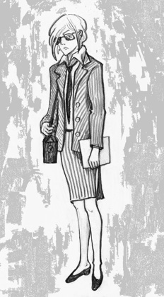 "Лилит, ""секретарь""."