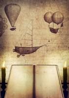 Обложка произведения Блокнот попаданца: на воде и в воздухе