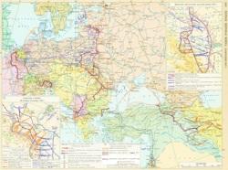 Карта фронтов на...