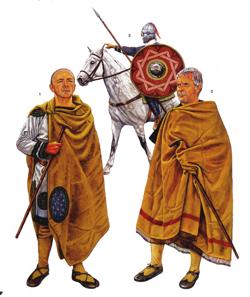 Римские воины из...