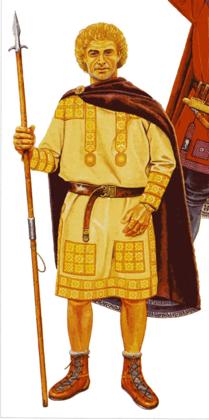 Восточноримский офицер...