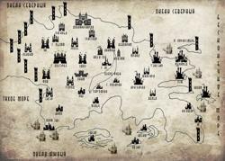 Карта Исайн'Чоль после...