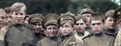 Женский батальон...