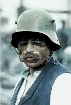 Германский солдат...