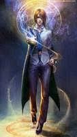 Обложка произведения Гарри Поттер, Разум и Магия