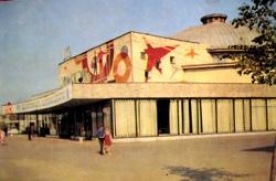 Пензенский цирк в 1970х