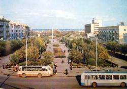 Сквер на улице Славы