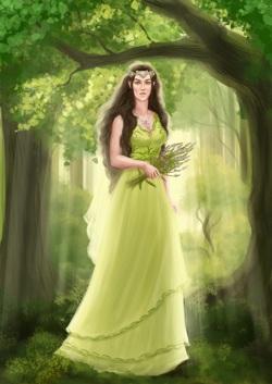 Королева Ллаэрвин