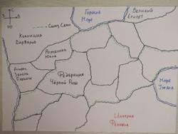 Карта северозапада...