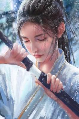 Обложка произведения Алый снег охотника Лю
