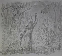 Охота Иллюстрация к...
