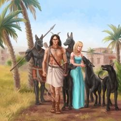 Хэфер и Тэра у Ануират