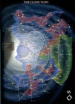 Карта галактики на...