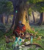 Обложка произведения Друид и Марвел