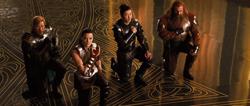 Троица Воинов и леди...
