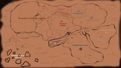 Приблизительная карта...