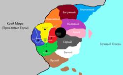 Карта приоратов