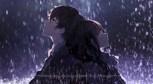 Обложка произведения Девушка бегущая под дождем.