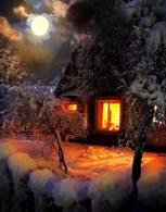 Обложка произведения Дочь зимнего рассвета, сиреневых сумерек и серебряных снегов