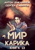 Обложка произведения Мир Карика 13. Темный рыцарь