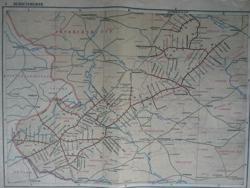 Схема ж/дорог Литвы в...