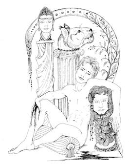 Обложка произведения Первый спазм по Империи Джи - мрак и ужс